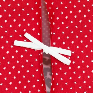 Red with White Mini Stars Kids Teepee