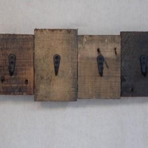 Rustic Pallet Wood Key Holder, Pallet Key Hook, Rustic Home Decor