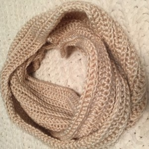 Crochet Ribbed Scarf