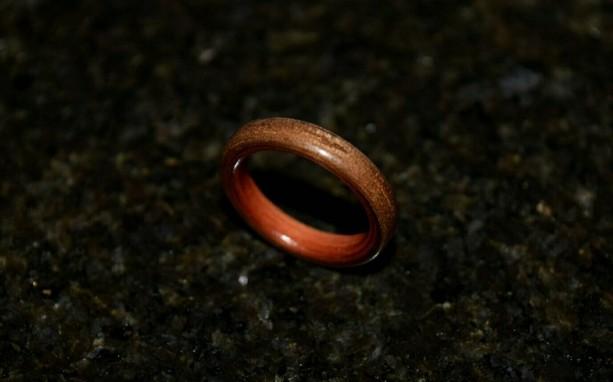 Ready to ship  size 9 ( Bentwood Method ) Aromatic Cedar wrapped with Black Walnut