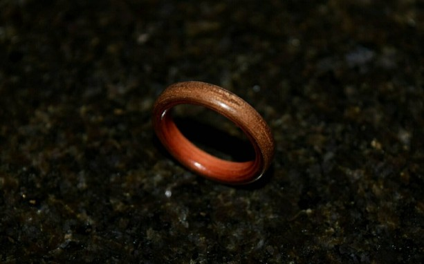Hand Made ( Bentwood Method ) Aromatic Cedar wrapped with Black Walnut