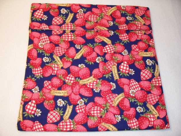 Strawberry Print Microwave Bake Potato Bag,Gifts,Housewarming,Kitchen and Dining,Bake Potato