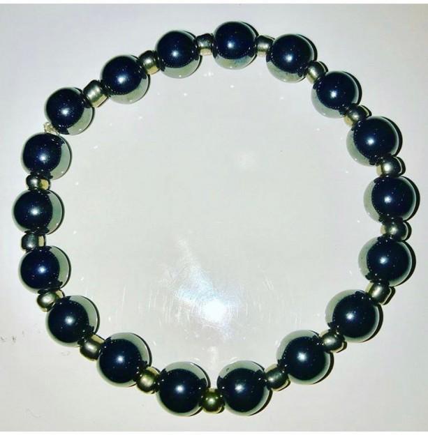 Exquisite, Handmade Gorgeous Hematite Bracelet
