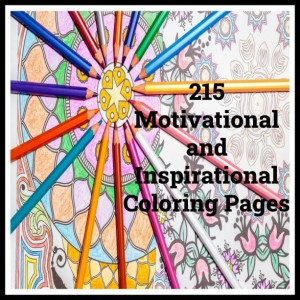 215 Motivational Coloring Pages