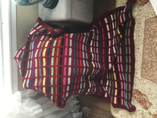 Mult-Colored blanket