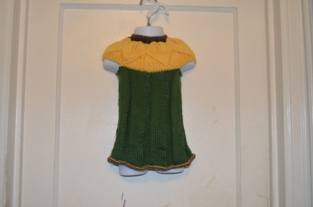 Sunflower Dress 6-12 Months