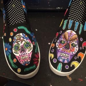 Sugar Skull Shoes