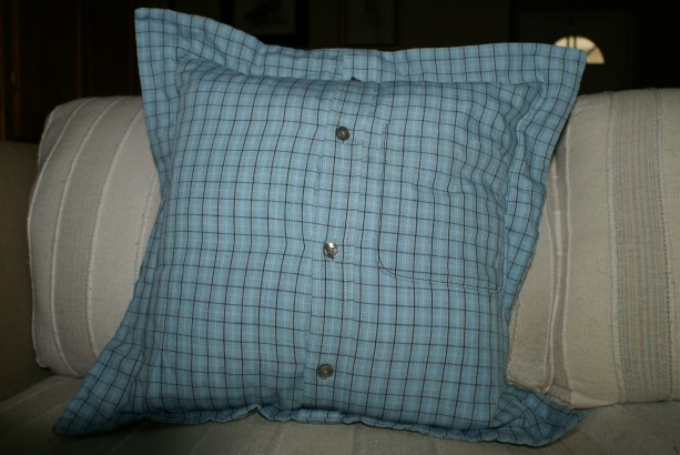 Ice Blue Pillow