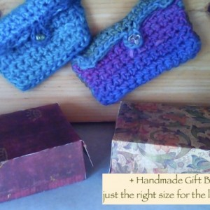 Little crochet purses