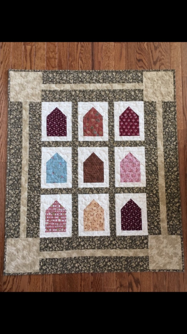 Home Sweet Home Baby Quilt