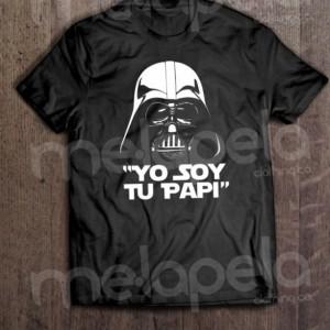"Darth Vader - I Am Your Father Spanish ""Yo Soy Tu PaPi"" Novelty T-Shirt (NEW)"