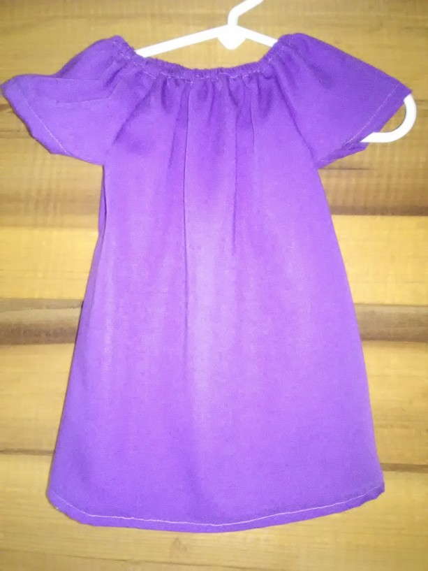 Girls Peasent Dress