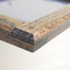 Forever 5 X 7 Distressed  Oak picture frame