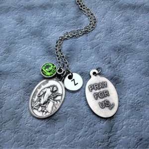 Personalized Saint John of God Necklace. Patron Saint of Heart Patients, Nurses and of the Sick
