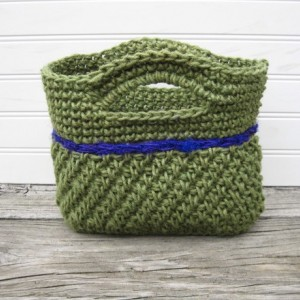 Jute and Sari Silk Purse/Bag handmade in the USA by Twisted Blossom Design