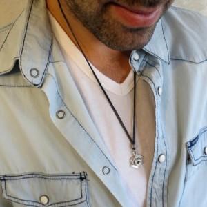 Men's Necklace - Men's Camera Necklace - Men's Silver Necklace - Mens Jewelry - Necklaces For Men - Jewelry For Men - Gift for Him