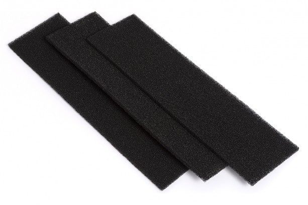 "SMELLRID Reusable Activated Carbon Vent Filter: (3) 4""""x14"""" Filters/Pack. Can be Easily Cut-to-Fit."
