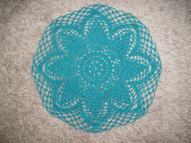 Handcrocheted Doily Centerpiece Original Design