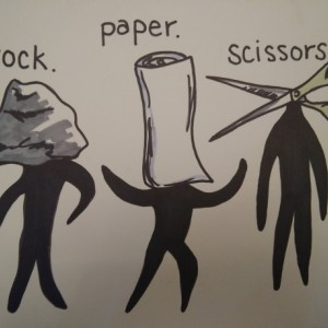 Rock Paper Scissors Art