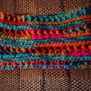 Circus Headband, blue headband, blue earwarmer, orange headband, orange earwarmer, headband, headbands, earwarmer, earwarmers, ear warmer