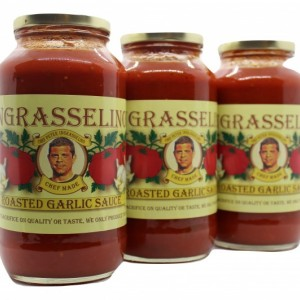 Roasted Garlic Sauce by INGRASSELINO PRODUCT, 3 pack