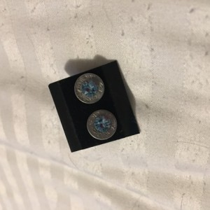9mm earrings