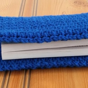 Royal Blue Book Cover, Book Protector, Gift for Teacher, Gift for Book Lover