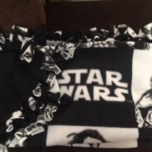 Star Wars Rogue One fleece blanket