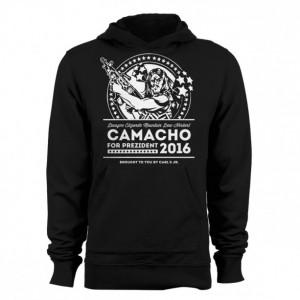 "Idiocracy ""Prezident Camacho 2016"" Hoodie"