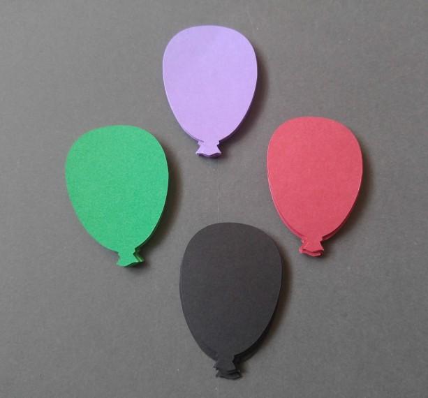 Balloon Die-Cut Embellishment
