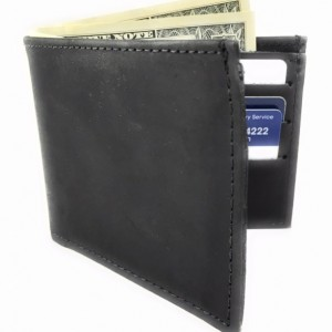 Mens Basic Bifold Wallet,Genuine Leather,Leather,Leather Bifold Wallet,Mens Leather Wallet, Made in USA,Leather Wallet,Bifold Leather Wallet