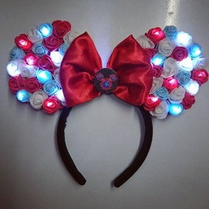 4th July Theme Minnie Mouse Light Up Ears