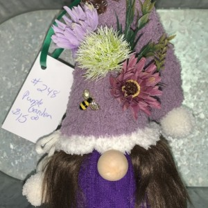 Purple Garden Gnome