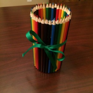 Teacher Appreciation Pencil Vase/Supply Caddy