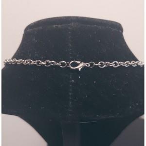 Transparent Bezel Mermaid Necklace