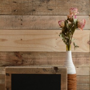 Large Reclaimed Wood Chalkboard Block