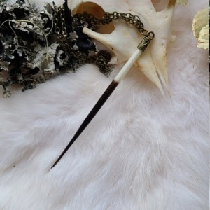 Wunderland Jewelry // self d-fence // spike necklace // one of a kind // oddity