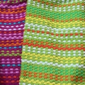 Fiesta Greetings Crochet Top Kitchen Towels, Choose Color