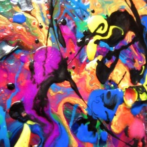 16 x 20 Wall Art, Modern Painting, Splatter Canvas, Graffiti Art Canvas, Fluid Painting, Drip Art, Outsider Art, Abstract Modern Art 16 x 20