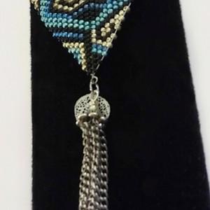 Custom Beaded Triskelion Necklace