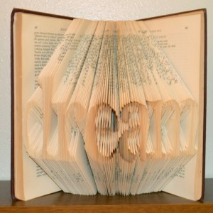 Folded Book - Dream - Book Art