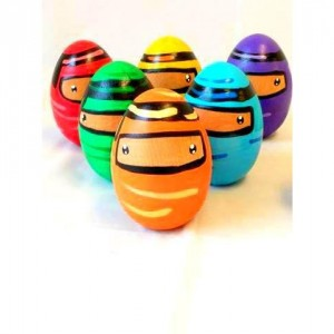 Ninja bowling set - Mini bowling set - Wooden bowling set - Gifts for boys - Kids game - Bowling - Ninja toy - Ninja gift - Wooden toy -