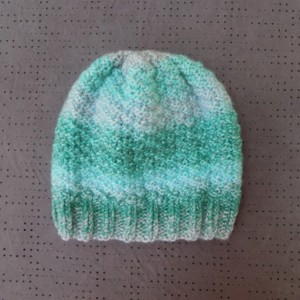 Sea Greens Adult Knit Hat