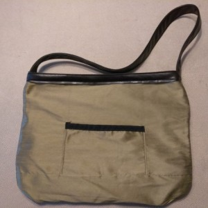 Large bag or tote gray