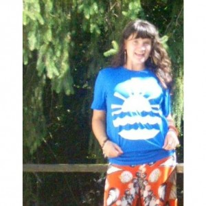 Seneca Lake Blue T Shirt