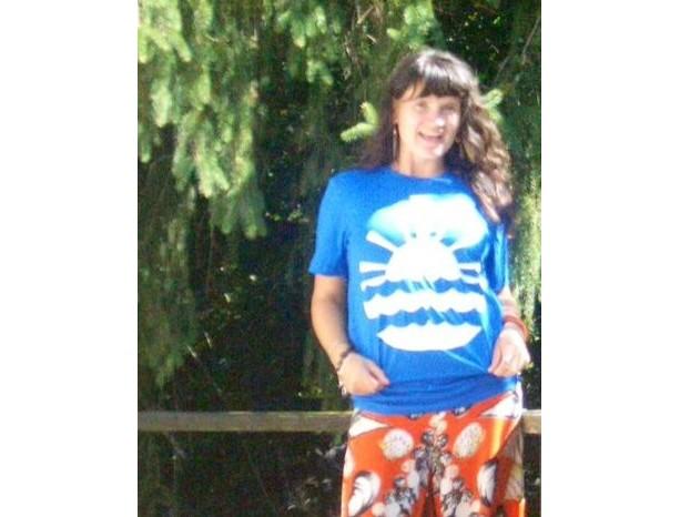 Seneca Lake Blue T Shirt