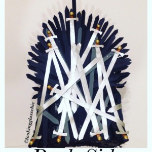 Game of Thrones inspired Iron Throne Piñata for party