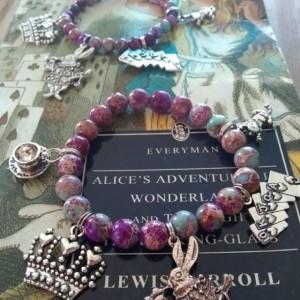 Alice in Wonderland - Unabridged -5 charms