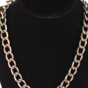 Pewter Chain Necklace