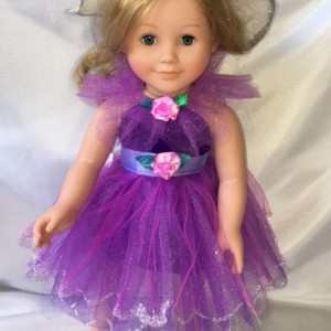 American Girl Doll Fairy Princess Dress